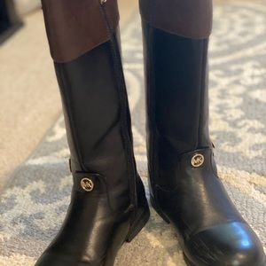 Michael Kors girls riding boots size 2.